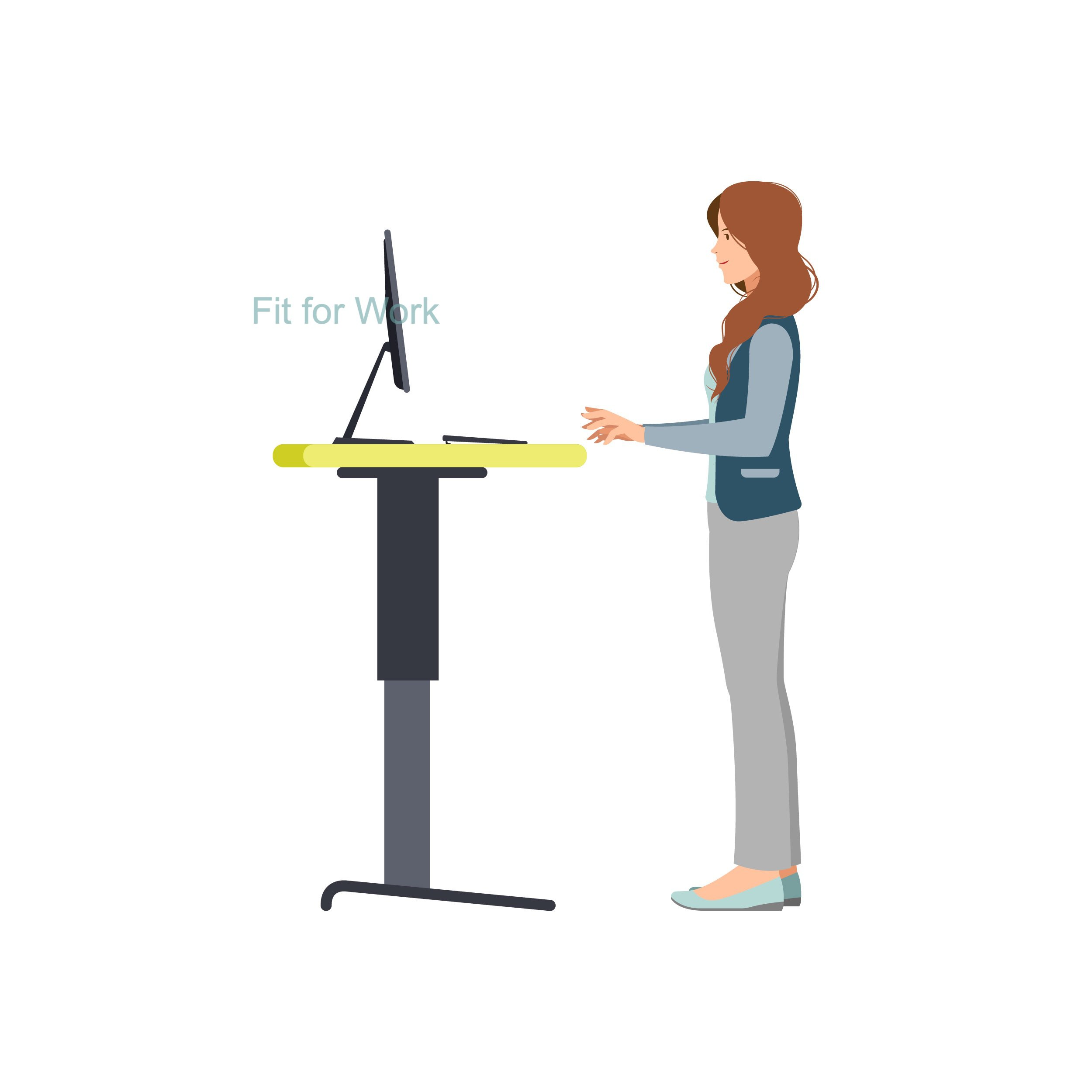 Pros and Cons Of a Sit to Stand Desk