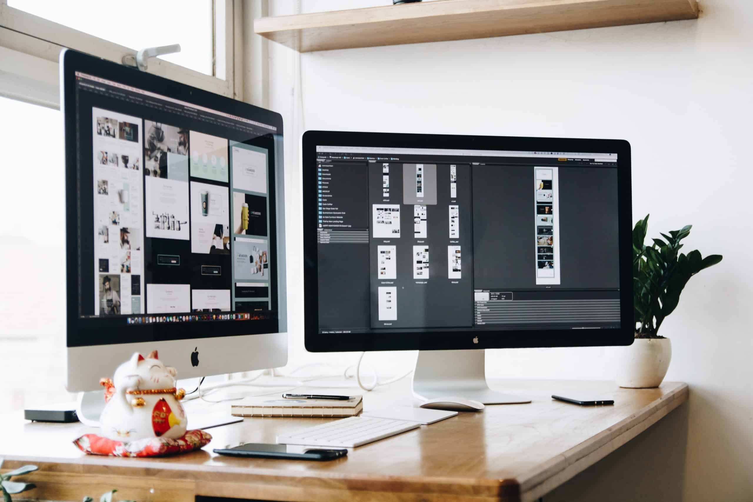 The Best Position of your Monitors – Working From Home