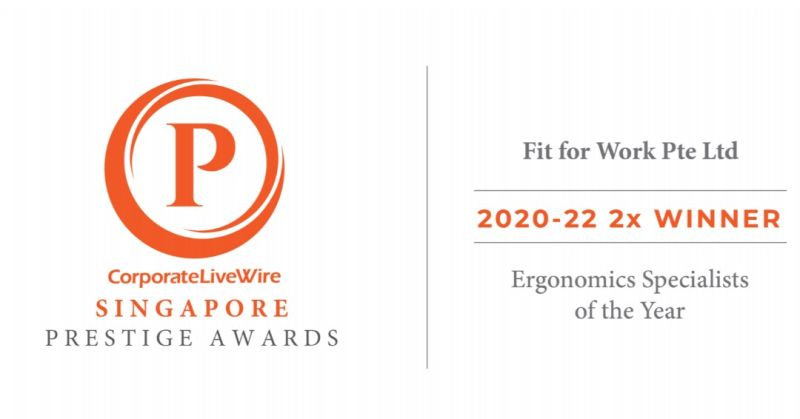Ergonomics Specialists of The Year 2020 & 2021